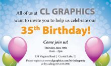 CLG B-Day Party